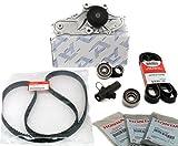 GENUINE / OEM Honda / Acura V6 Timing Belt & Water Pump Seals Pulley Hydraulic Bearings Kit Factory Parts