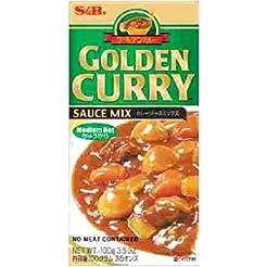 S&B Golden Curry Sauce Mix, Medium Hot, ...