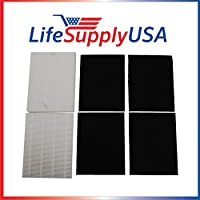 2 HEPA and 4 Carbon Replacement Filter set for Coway AP-1216-FP AP-1216L