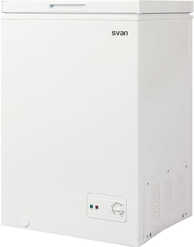 Svan congelador horizontal svch100dc: Amazon.es: Grandes ...