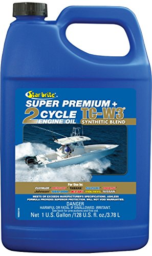 Star brite Super Premium 2-Cycle Engine Oil TC-W3 - 1 gal