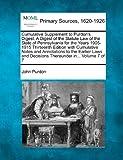 Cumulative Supplement to Purdon's Digest, John Purdon, 1277090637