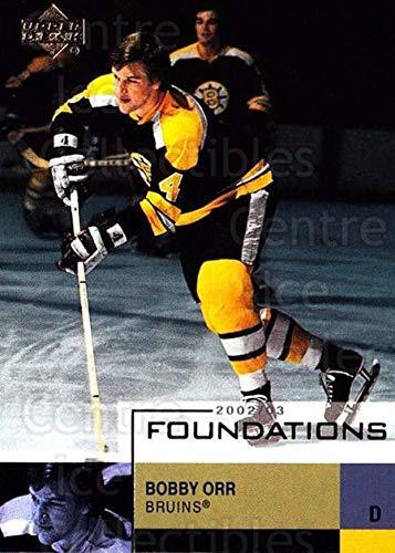 (CI) Bobby Orr Hockey Card 2002-03 UD Foundations (base) 4 Bobby Orr