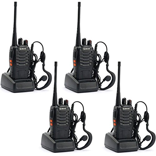 BAOFENG 4pcs BF-888S Walkie Talkie with Built in LED Torch (Pack of 4) by Nestling