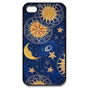 Sun Moon Pattern Use Your Own Image Phone Case for Iphone 4,4S,customized case cover ygtg543337