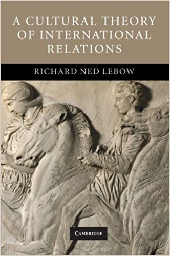 Amazon A Cultural Theory Of International Relations