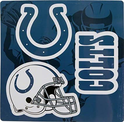 69732545 Amazon.com : Indianapolis Colts 12 x 12 Inch Large NFL Multi-Magnet ...