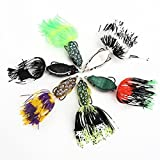 Sports Fishing Lure Ray Bait Top Water fishing Lures Frogs Lure Box Hunting (6pcs/Lot)