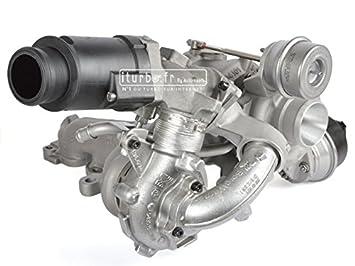 Turbo Volksvagen Crafter 30 - 35 Crafter 30 - 50 2.0 TDI Biturbo 142 - 163 CV 53049700125 Original KKK: Amazon.es: Coche y moto