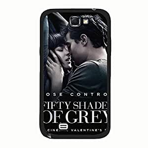 Classic Kiss Fifty Shades of Grey Phone Case Cover For Samsung Galaxy Note 2 n7100 Jamie Dornan Stylish