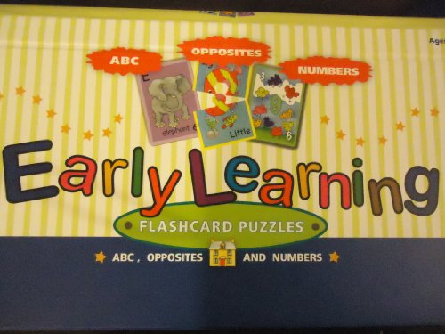 Early Learning FLASHCARD PUZZLES