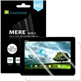 GreatShield Ultra Smooth (HD) Clear Screen Protector Film for Asus MeMO Pad FHD 10 (3 Pack)
