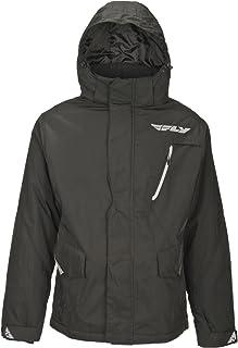 Fly Racing Jacke Composite schwarz Größe: XL wattiert gefüttert Windbreaker Enduro