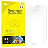 Nexus 6P Screen protector, JETech 2-Pack [CutOut for Proximity Sensor] Premium Tempered Glass Screen Protector Film for Huawei Nexus 6P - 0913