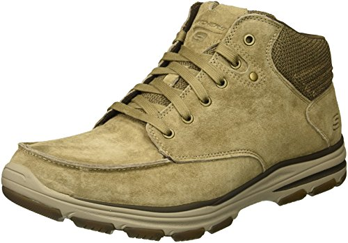 Tan Garton Meleno 65170 - Chaussures Pour Hommes Skechers
