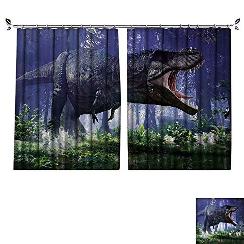 (DESPKON Shading Pure Color Modern Minimalist Style D Rendering of Tyrannosaurus Rex Stomping Through The Wetlands of Hell Creek. Furniture Material W55 x)