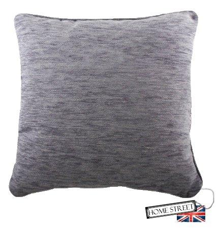 Homestreet Cushions Relleno de Plumas Lila Lujo Chenilla ...