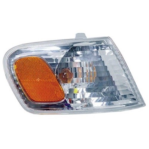 (Go-Parts » OE Replacement for 2001-2002 Toyota Corolla Turn Signal Light Assembly/Lens Cover - Front Right (Passenger) Side 81510-02070 TO2531137)