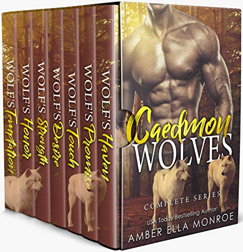 Caedmon Wolves ~ A Wolf Shifter Paranormal Romance Collection (The Complete Series)