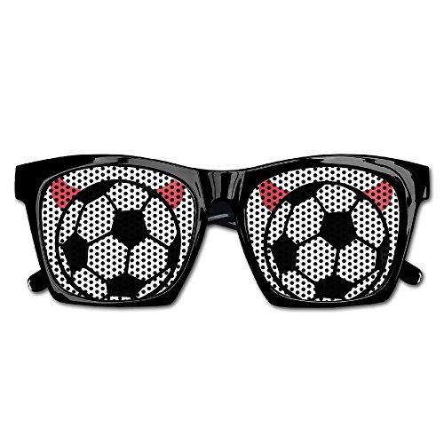 Soccer Ball With Devil Horns Unisex Polarized Party Sunglasses Resin Frame Eyewear Favor Mesh Lens Sun Glasses
