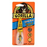 Gorilla Super Glue with Brush & Nozzle