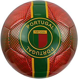 Vizari Portugal Soccer Ball 91847 Size Red, 5