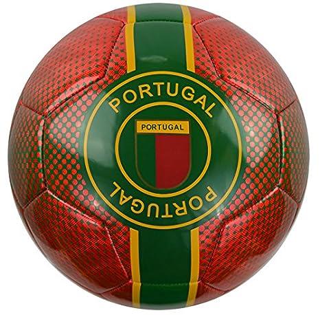 Vizari Portugal Trainer balón de fútbol 91857, Rojo, 1: Amazon.es ...