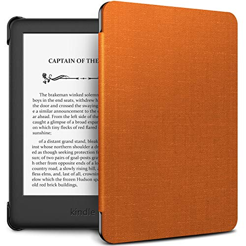 INFILAND Kindle 10th Gen 2019 Case, Shell Case Cover Auto Wake/Sleep Compatible with All-New Kindle 10th Generation 2019 Release Only, Orange - Gen Cover Case
