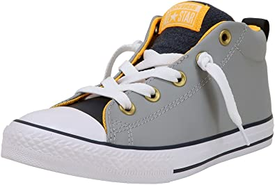 Street Mid Gray Fashion Skate Sneakers