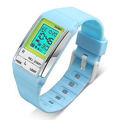 Kids Watches Boy Girl Digital Sports Waterproof Wrist Watch with Alarm for Child from JELERCY