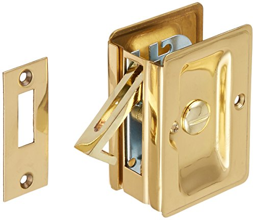 Deltana SDLA325U3 Adjustable 3 1/4-Inch x 2 1/4-Inch Privacy HD Pocket Locks