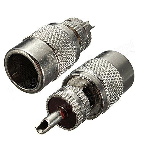 PhilMat Uhf spina PL259 maschio per rg-8x rg8x LMR240 connettore del cavo