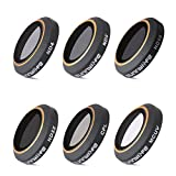 XCSOURCE ND4/ND8/ND16/ND32 Neutral Density Polarizer CPL MC-UV Lens Filter Set Camera Lens Accessory Kit for DJI Mavic Pro Drone FPV Camera RC584