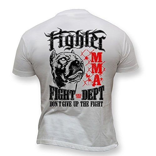 Dirty Ray Martial Arts MMA Fighter Fight Dept Men's T-Shirt K50 (M) ()