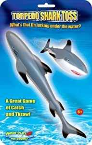 Amazon Com Great White Shark Torpedo Shark Toss Toys Amp Games