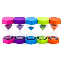 Reloj de arena para escritorio con temporizador de 10/15/20/30/60 minutos para niños
