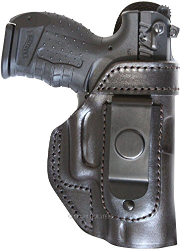 Colt Delta Elite IWB Leather Holster with Clip, No Thumb Break