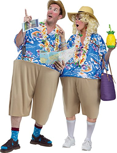 Halloween Tourist Costumes For (Mens Halloween Costume- Tacky Tourist Adult)