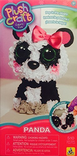3d Plush (Plush Craft 3D Panda Fabric Fun Kit)