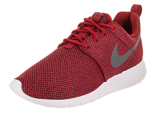 Boys Shoes Gym (NIKE Kids Roshe One (GS) Gym Red/Cool Grey Anthracite Running Shoe 6 Kids US)