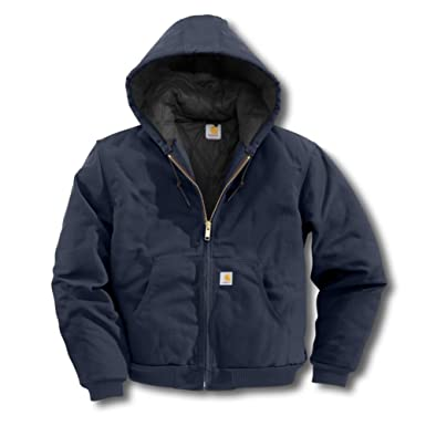 fec2692a8 Image Unavailable. Image not available for. Color: Carhartt Men's QFL Duck  Active Jacket ...