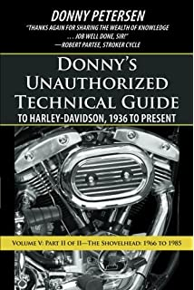 Amazon clymer repair manual m420 automotive donnys unauthorized technical guide to harley davidson 1936 to present volume v sciox Gallery