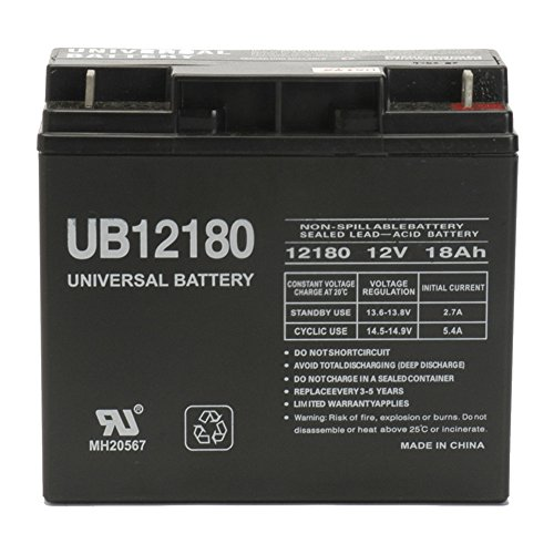 The Upgrade Group 12V 18AH SLA Battery replaces wp18-12 l...