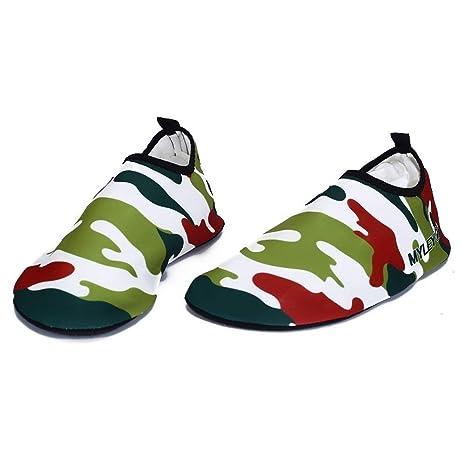 Coogel Unisex Water Running Sport Barefoot Skin Shoes Sock ...