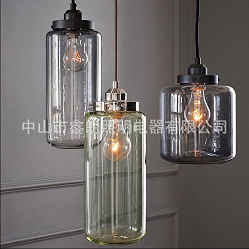 BGmdjcf Character Dining Glass Pendant Lightss Creative Bedroom Bed Retro Pendant Lightss Minimalist Study Aisle Lights Amber , ,A- No Lamp