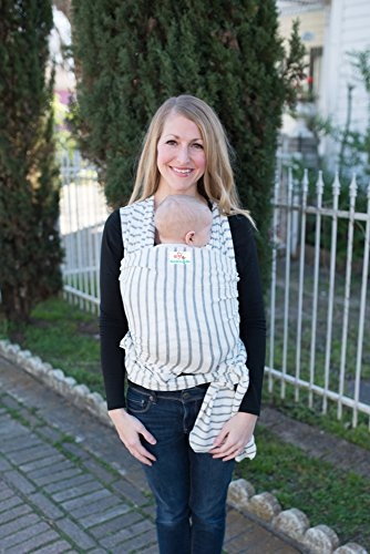 Baby Wrap Carrier Sling Easy To Put On Stripes Swaddle For