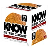 #4: KNOW Foods Gluten Free, Low Carb, Protein Cookies, Cinnamon, 4g Net Carbs - 4 Count