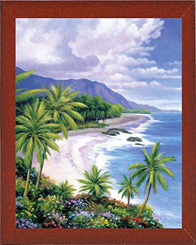 Frame USA Tropical Paradise 1-JOHZAC16382 Print 20.5