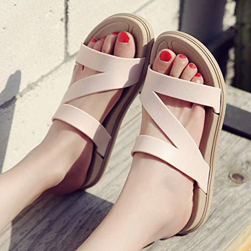 Da Beach Antiscivolo Sandali colore Donna Ciabatte Summer Pink E Fashion Huyp Wear Parola 36 Dimensioni Camicia Bianca Sandals Outdoor Sfpxqw