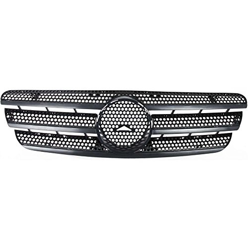 Grille for Mercedes Benz ML-Class 98-05 Black (163) Chassis